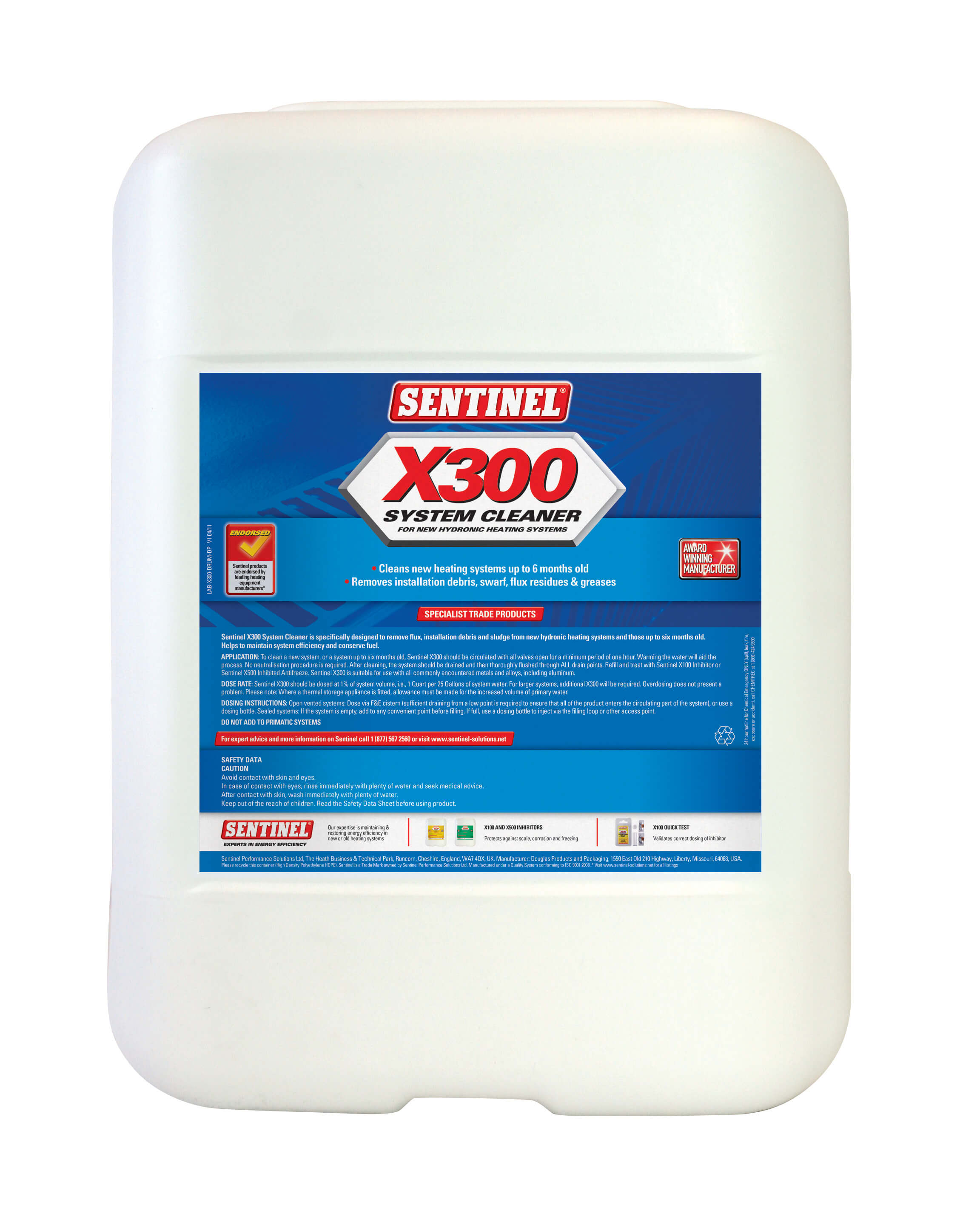Sentinel - For Hydronic Heating Systems
