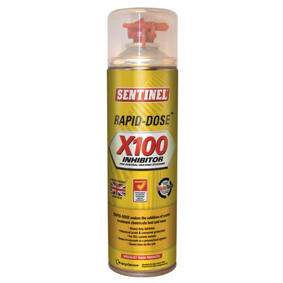 400ml Sentinel Rapid-Dose® X100 Inhibitor (discontinued)