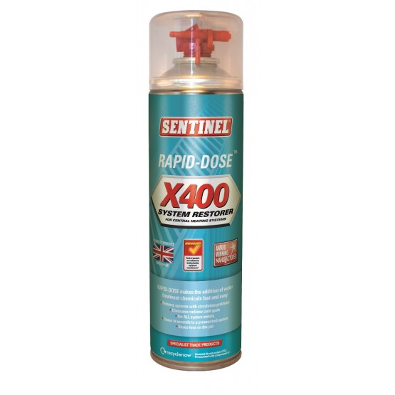 400ml Sentinel Rapid-Dose® X400 System Restorer (discontinued)