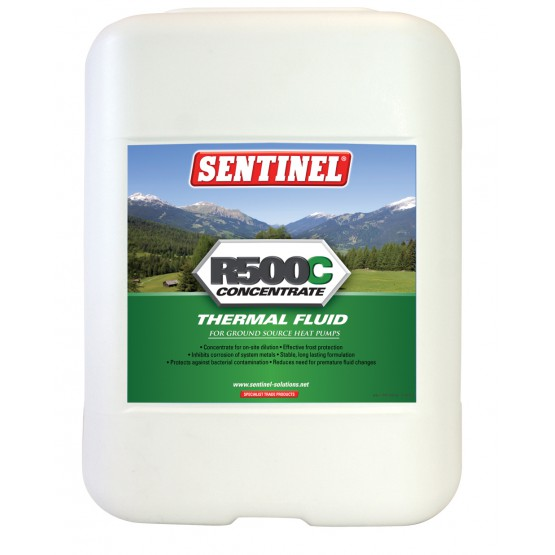 R500C Thermal Fluid for Ground Source Heat Pumps