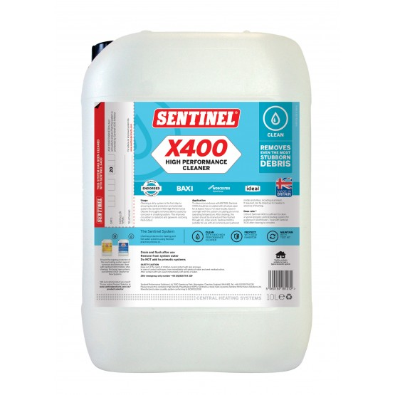10 Litre Sentinel X400 High Performance Cleaner