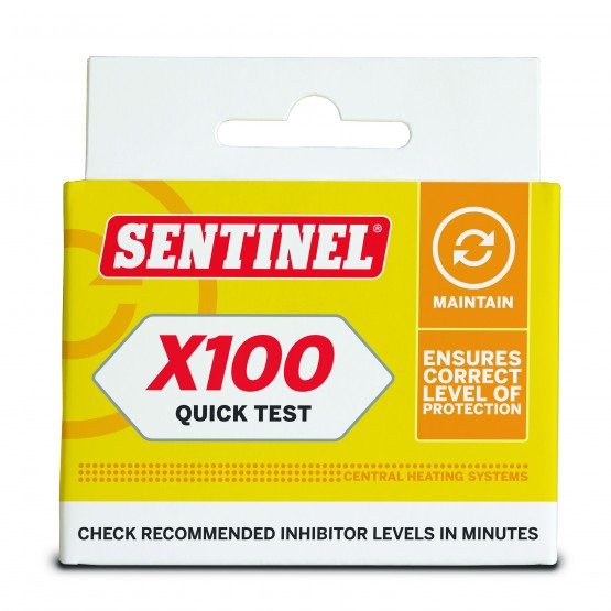 Sentinel X100 Commercial Quick Test Kit front