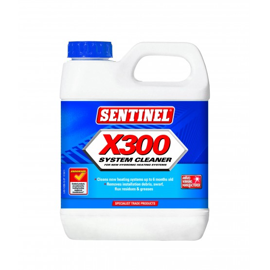 1 Litre Sentinel X300 System Cleaner US