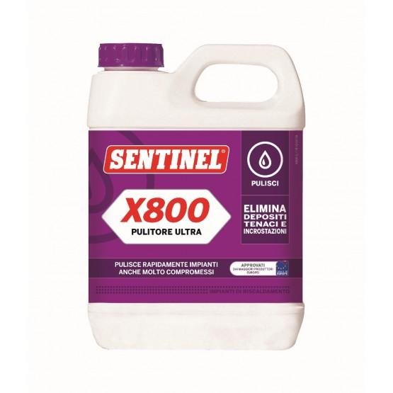 Pulitore ultra lt 1 sentinel x800 cod x80012x1lt ar for Bticino x800
