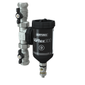 Sentinel Eliminator Vortex 300 brass T-piece with valves