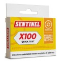 Sentinel X100 Commercial Quick Test side