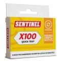 Sentinel X100 Quick Test Kit side