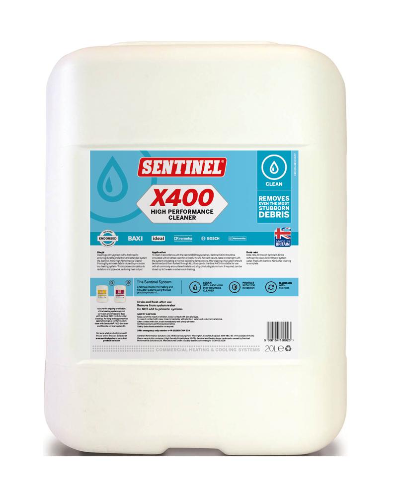 X400 High Performance Cleaner   Sentinel