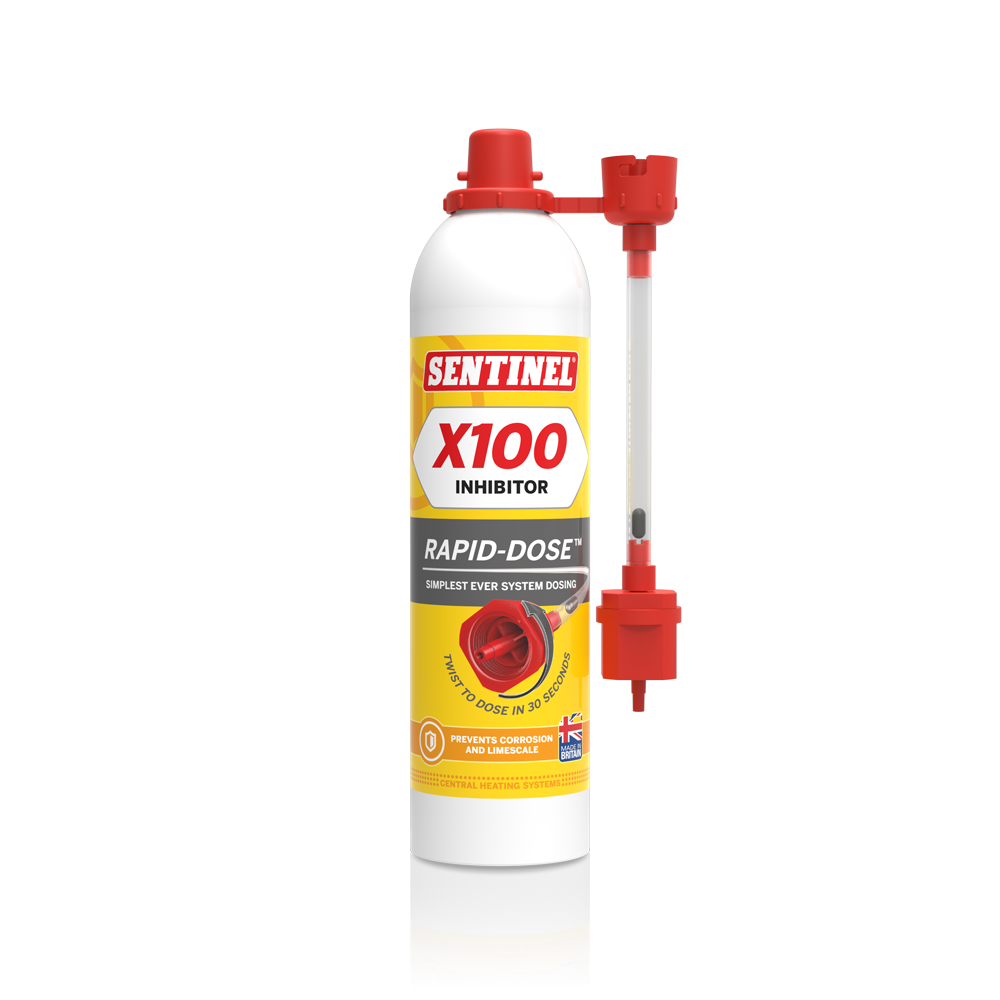 how to add corrosion inhibitor to central heating