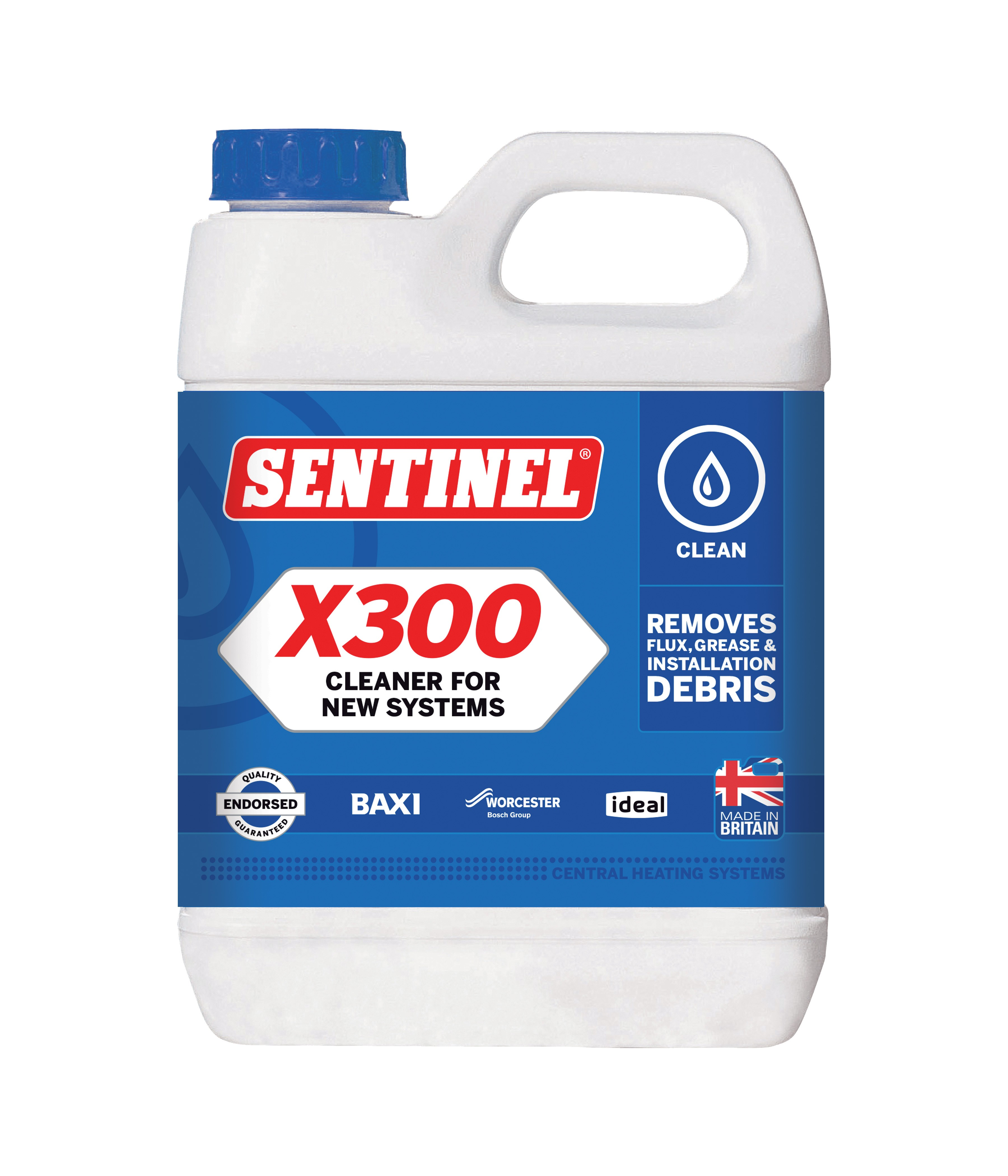 X300 Cleaner for New Systems | Sentinel
