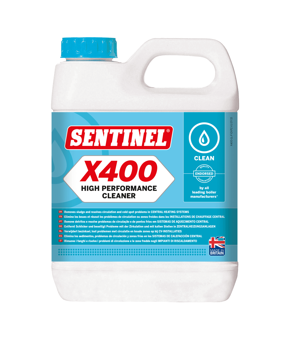 X400 Schlammentferner   Sentinel
