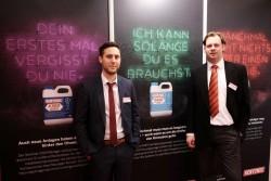Thorsten Adams und Yvo Maenen vor der Sentinel Image-Kampagne #ThinkDirty