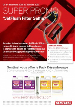Offre JetFlush Filter Selfie