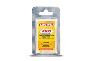 Sentinel X100 Concentratietest