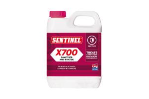 1L Sentinel X700 Sanitiser and Biocide