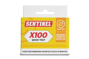 Sentinel X100 Schnelltest