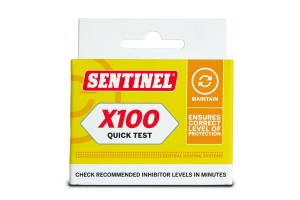Sentinel X100 Quick Test Kit front