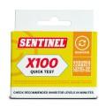 Sentinel X100 Quick Test Kit front