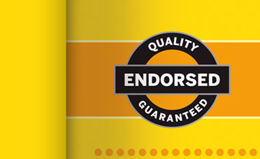 Quality Endorsement Guaranteed
